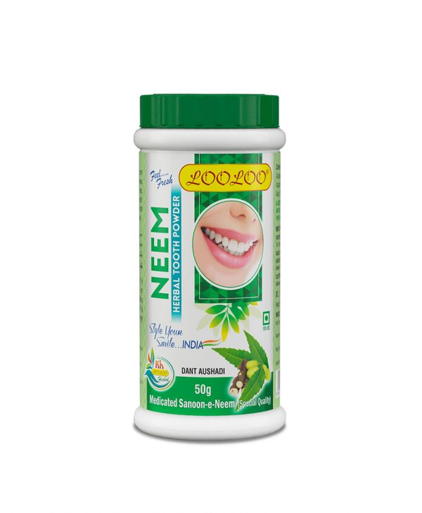 loolooherbal oral care Neem Clove Toothpowder Ayurvedic1